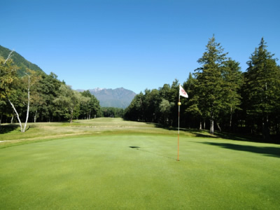 日向山高原ゴルフコース1