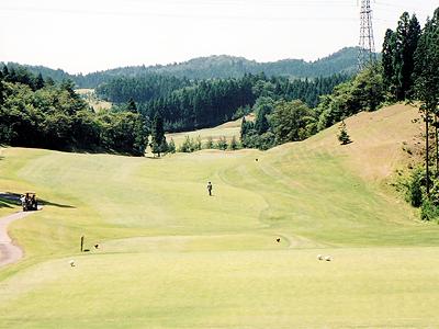 秋田森岳温泉36ゴルフ場画像4